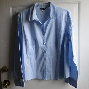 George Long Sleeve Shirt -  light blue